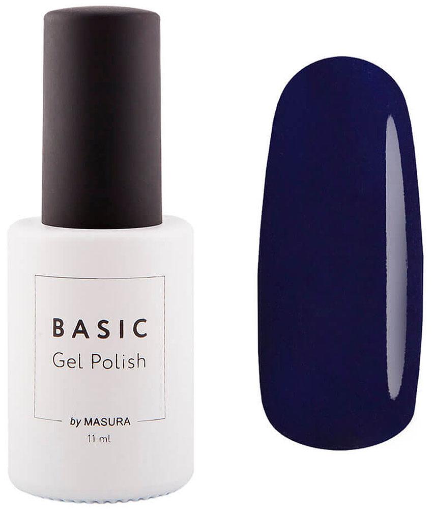 Masura Гель-лак Basic Морской Пион, 11 мл294-373SНасыщенный темный синий, модный оттенок сезона, эмалевый, плотный.
