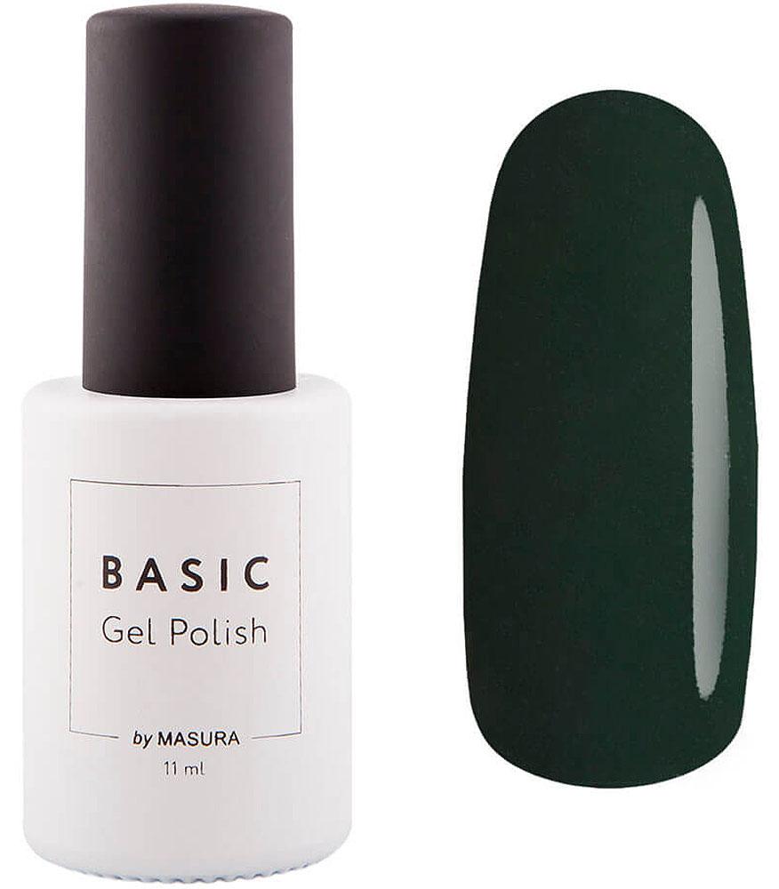Masura Гель-лак Basic Темный Нефрит, 11 мл294-372SНасыщенный темно-зеленый, эмалевый, плотный.Как ухаживать за ногтями: советы эксперта. Статья OZON Гид