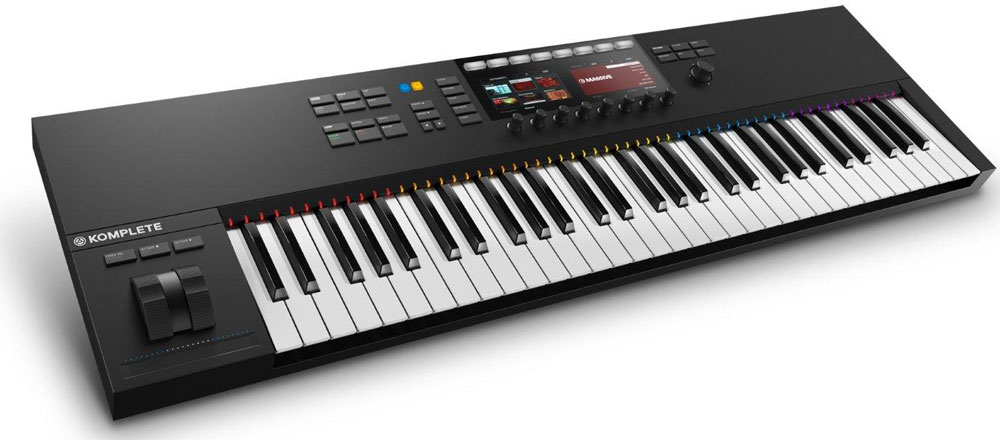 Native Instruments Komplete Kontrol S61 Mk2, Black MIDI-клавиатура Native Instruments