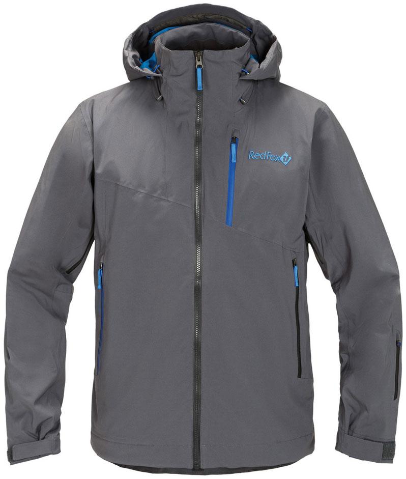 Куртка мужская Red Fox Voltage, цвет: асфальт. 00001051606_2000. Размер S (44/46)00001051606_2000В моделях Voltage используется эксклюзивный утеплитель ThinsulateFX70, который выполнен из эластичного синтетического волокна и ламинирован с ультралёгкой трикотажной подкладкой, что позволяет использовать меньшее количество слоев одежды. Изделия обладают свойствами климат-контроля, благодаря которым во время катания поддерживается оптимальная температура тела. Регулируемый в трех плоскостях капюшон с ламинированным козырьком совместим с каской. Центральная тракторная молния. Защита подбородка из микрофлиса. Вентиляция в подмышечной зоне на молнии со вставками из сетки. Воротник-стойка продублирован микрофлисом. Снегозащитная юбка c эластичной вентилируемой вставкой. Снегозащитная юбка и нижняя часть подкладки куртки выполнены из влагостойкого материала. Эластичные внутренние манжеты с отверстием для большого пальца. Влагозащитные наружные молнии и проклеенные швы.
