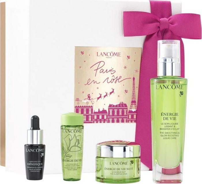 Lancome Набор подарочный женский Energie De Vie, 4 предмета lancome парфюмерный набор женский la vie est belle 4 предмета
