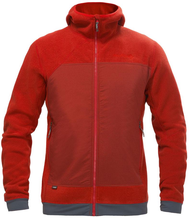 Толстовка мужская Red Fox Ozone, цвет: темно-красный. 00001052074_1200. Размер S (44/46)00001052074_1200Толстовка Ozone выполнена из комбинации материала Polartec и стрейчивых вставок на спине и спереди. Модель можно использовать в качестве среднего слоя в холодную погоду или как наружный слой – в тёплую. Толстовка прекрасно сохраняет тепло и обеспечивает великолепную вентиляцию. Это универсальная и комфортная модель в стиле apres-ski.