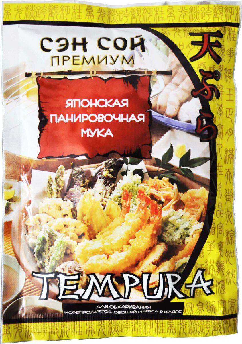Sen Soy Tempura японская панировачная мука, 150 г00000039427Темпура - это специальная панировочная мука для обжарки продуктов во фритюре. В японской кухне эту муку используют для приготовления кляра, в котором обжаривают морепродукты: кальмары, креветки, рыбу и различные овощи, а также готовят горячие роллы.