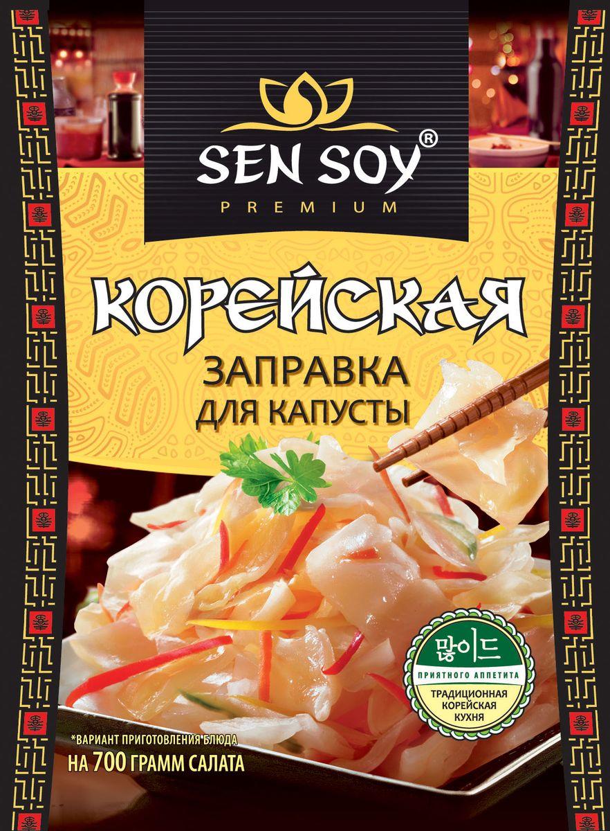 Sen Soy Корейская заправка для капусты, 80 г