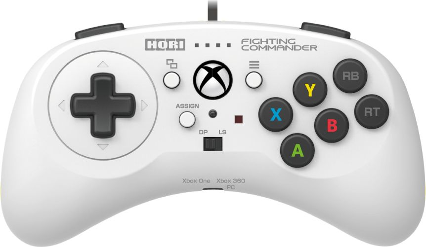 Hori Fighting Commander, White геймпад для Xbox One (XBO-013U) assassin s creed chronicles трилогия xbox one
