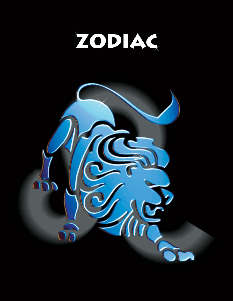 Тетрадь Зодиак Лев цвет черный06-2105Тетрадь 96 л. кл. Зодиак Лев ЗПР-96-9