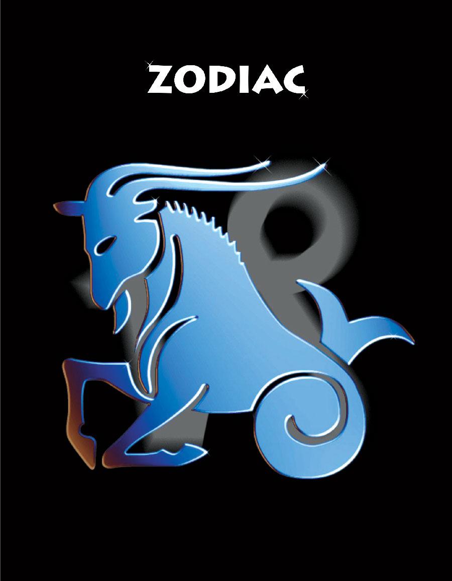 Тетрадь Зодиак Козерог цвет черный06-2110Тетрадь 96 л. кл. Зодиак Козерог ЗПР-96-5