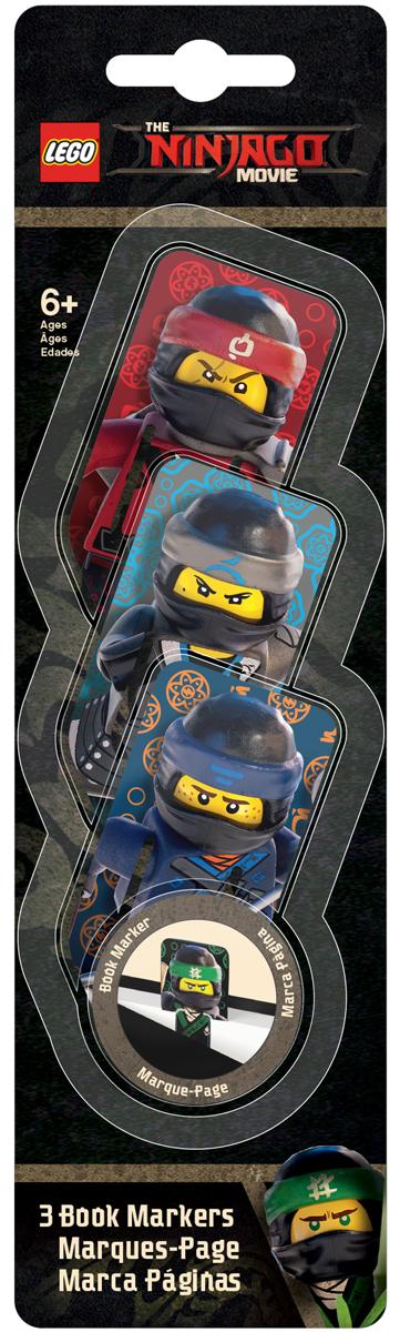 LEGO NINJAGO Набор закладок для книг Kai Nya Jay 3 шт 51879
