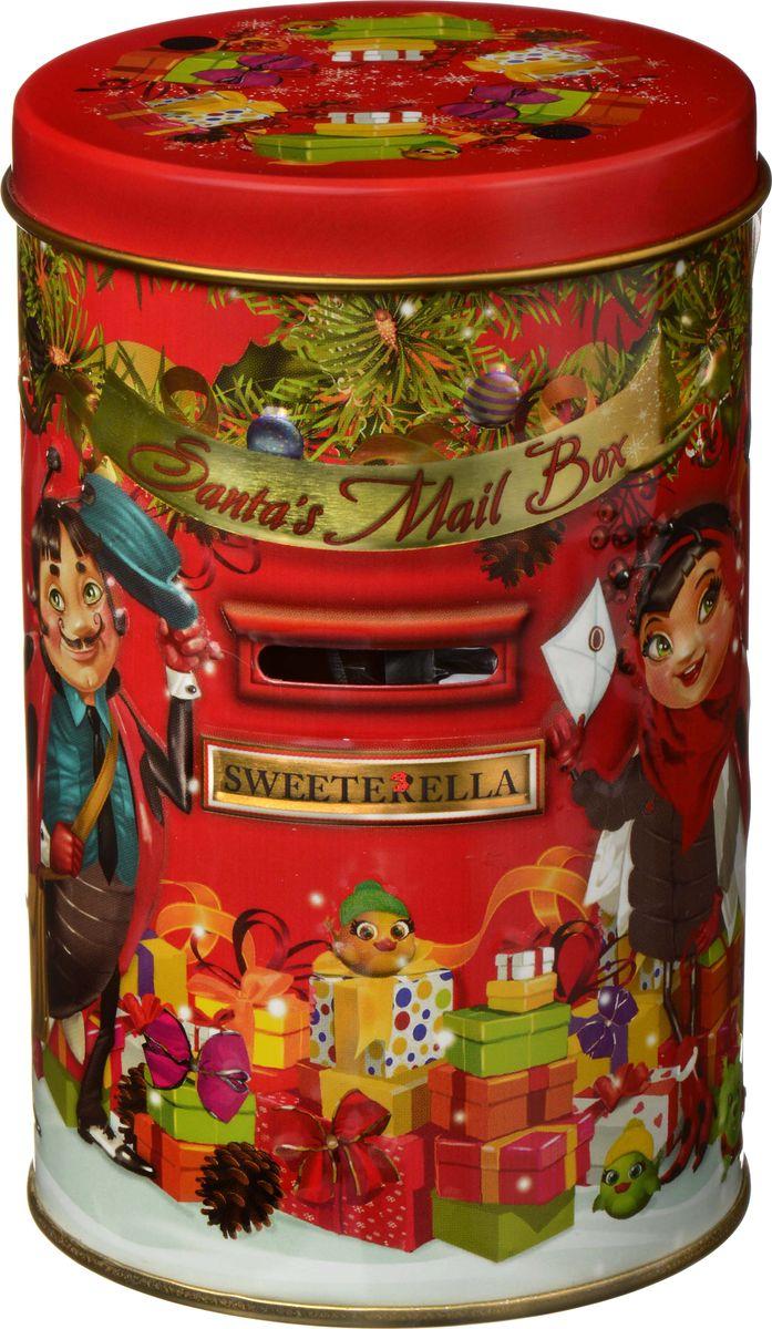 Sweeterella набор имбирного печенья Копилка, 136 гибб010Подарочная Новогодняя упаковка-копилка, украшенная яркимновогодним дизайном в стилистике линейки SWEETERELLA с мелкими красочными деталями –начинайте собирать монеты для покупки подарков на следующий Новый год! Состав: Имбирное мини-печенье которое давно стало одним из главных символов Рождества и Нового года.