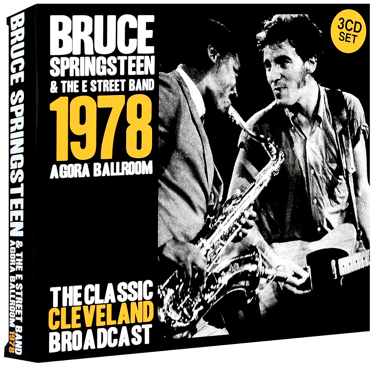 Брюс Спрингстин Bruce Springsteen. Agora Ballroom 1978 (3 CD) bruce springsteen live in dublin blu ray
