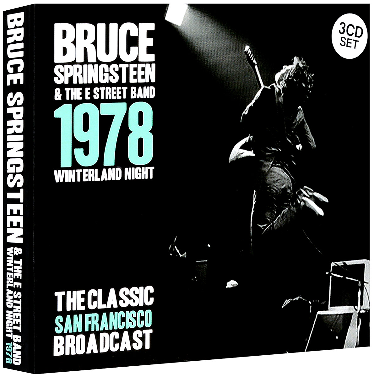 Брюс Спрингстин Bruce Springsteen. Winterland Night (3 CD) bruce springsteen live in dublin blu ray