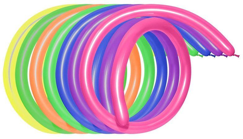 Шарик воздушный Пастель для моделирования 100 шт