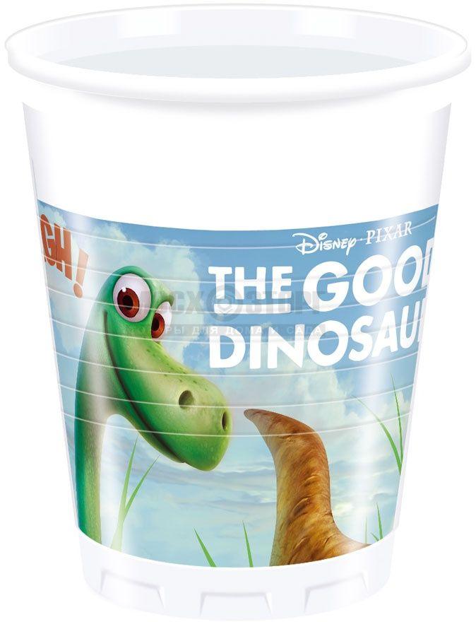 Procos Стакан Хороший Динозавр 200 мл 8 шт - Сервировка праздничного стола