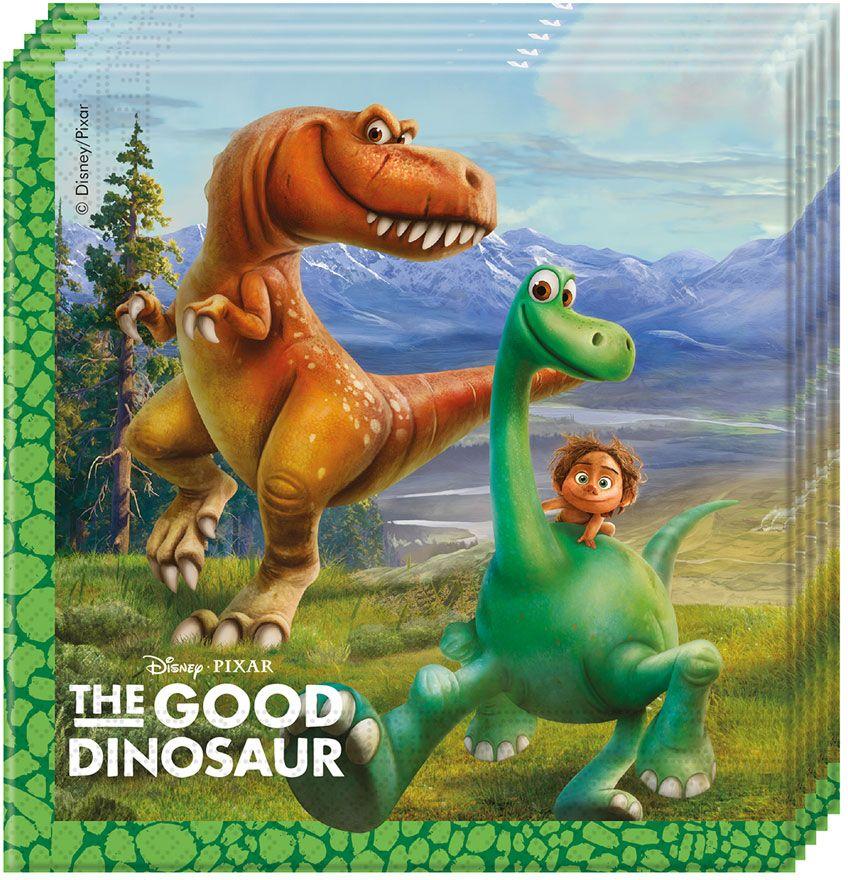 Procos Салфетка Хороший Динозавр 20 шт