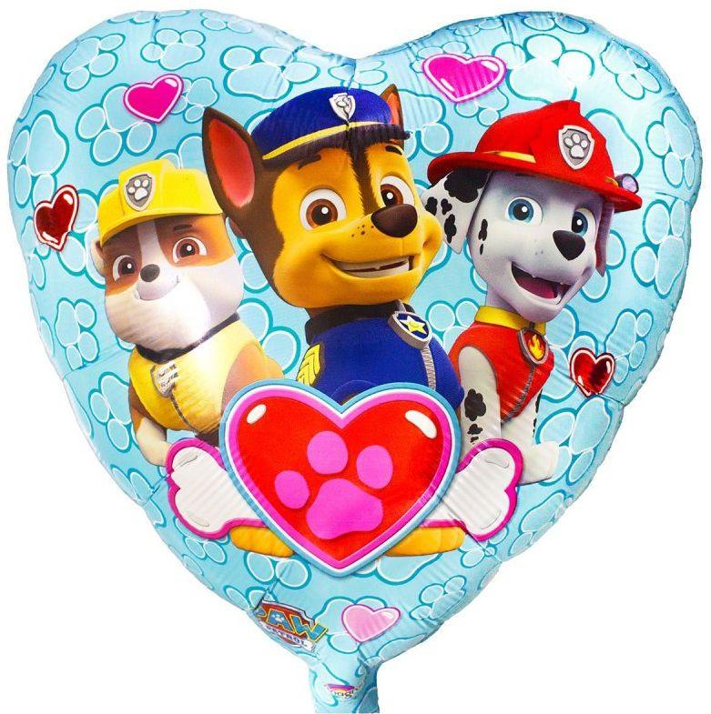 Anagram Шарик воздушный Сердце Щенячий патруль воздушный шар anagram 18