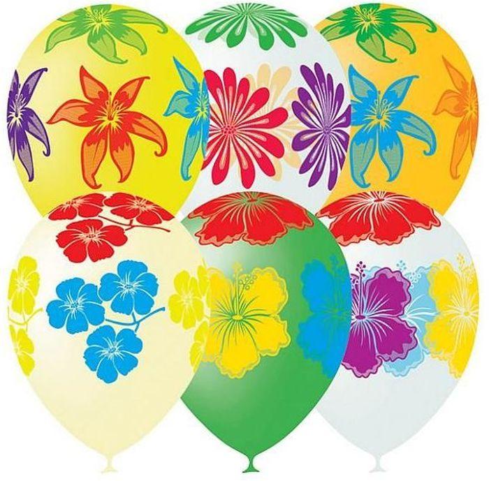 Latex Occidental Набор воздушных шариков Декоратор Цветущий сад 10 шт в казани пенопластовые шары для поделок