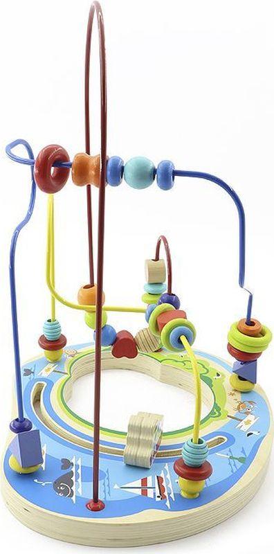 Игрушки из дерева Лабиринт Морское путешествие gf005 arts&amp crafts