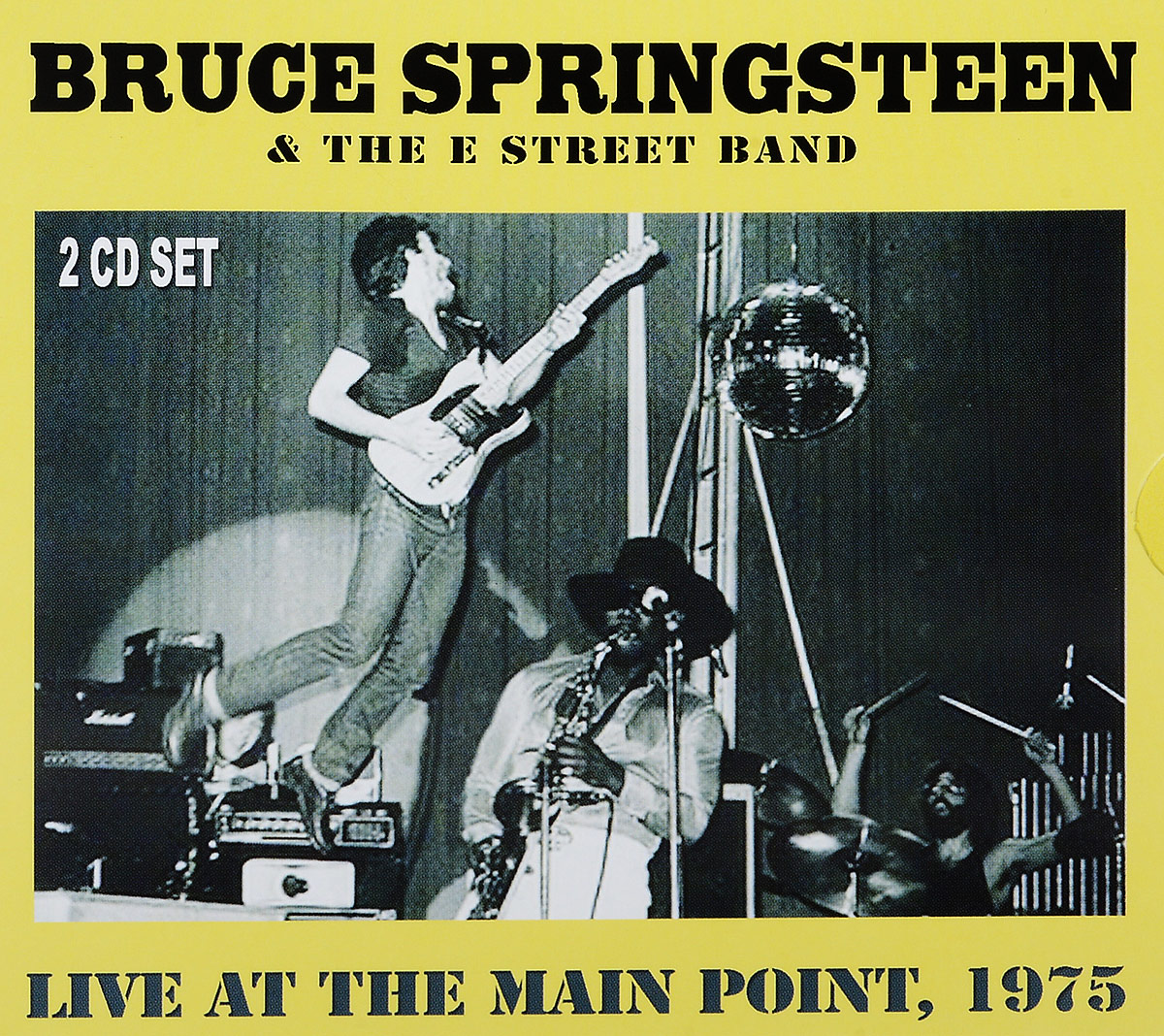 Брюс Спрингстин Bruce Springsteen. Live At The Main Point 1975 (2 CD) bruce springsteen live in dublin blu ray