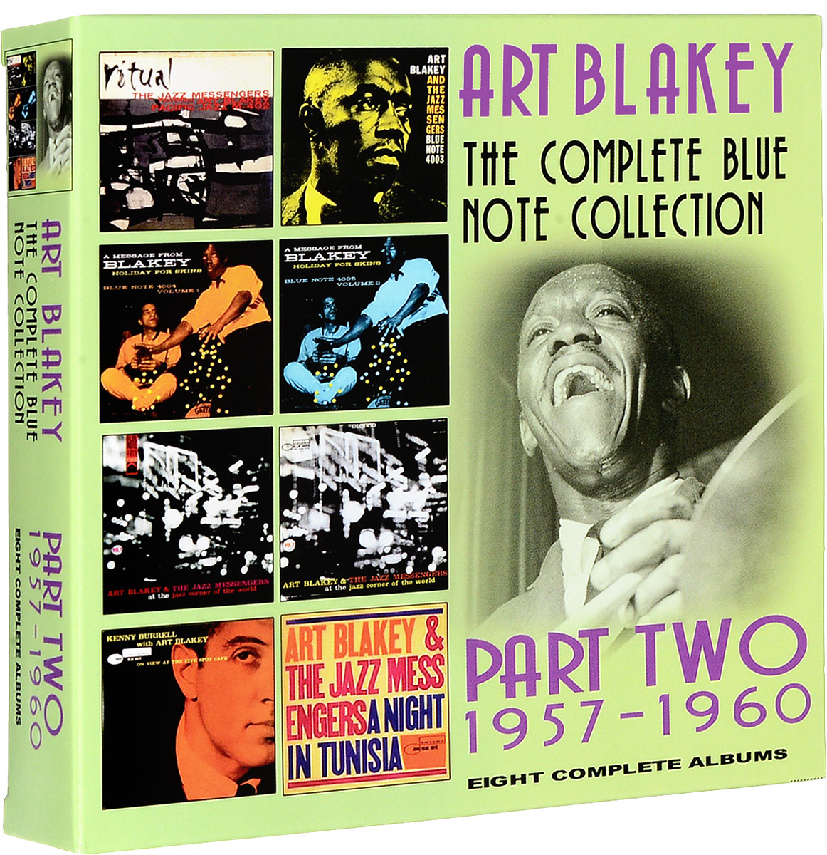 Арт Блэйки Art Blakey. The Complete Blue Note Collection 1957 - 1960 (4 CD)