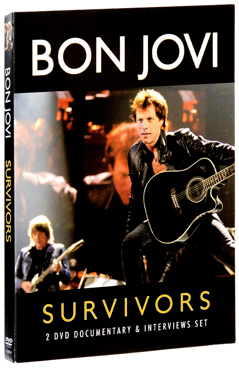 Bon Jovi: Survivors (2 DVD) bon jovi in their own words