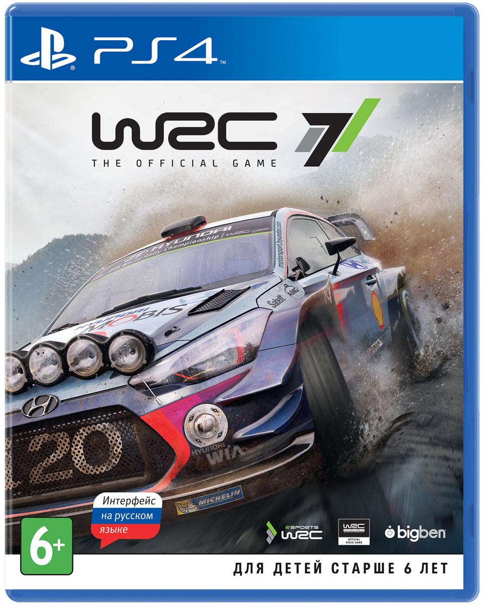WRC 7 (PS4) автоаксессуар wrc