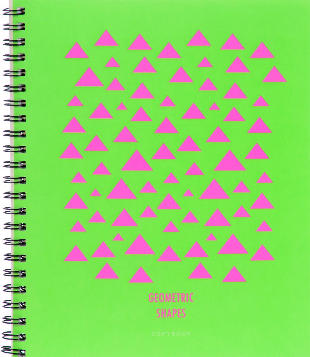 Канц-Эксмо Тетрадь Насыщенные цвета 96 листов в клеткуТСЛ965230Тетрадь А5 96л. Гребень. Клетка. Обложка: мелованный картон, пантонная печать, выборочный лак, бумага 60г/м2 Насыщенные цвета (орнамент), в ассортименте