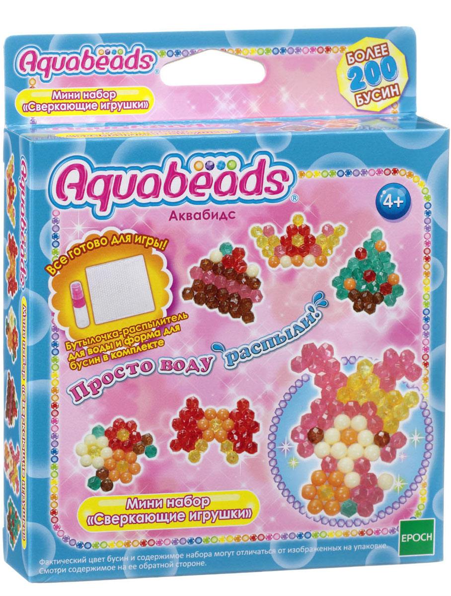 Aquabeads Мини-набор Сверкающие игрушки набор для творчества aquabeads аксессуар гребешок 31198