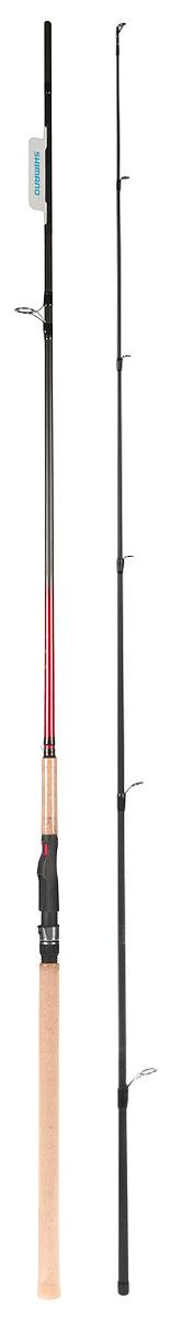 Удилище Shimano Catana DX Spinning, 300MSCATDX30MОригинальная серия удилищ Catana Spinning получает общее обновление всех 23 моделей представлением нового удилища Catana DX. Удилища имеют катушкодержатели Vibra Spot и легкодоступные держатели крючков. Двухсекционная серия сделана на бланках T30/40+Geo Fibre и начинается со сверхлегкой модели 165, а заканчивается версией длиной 300. Все модели представлены в классах M, MH,H и XH.