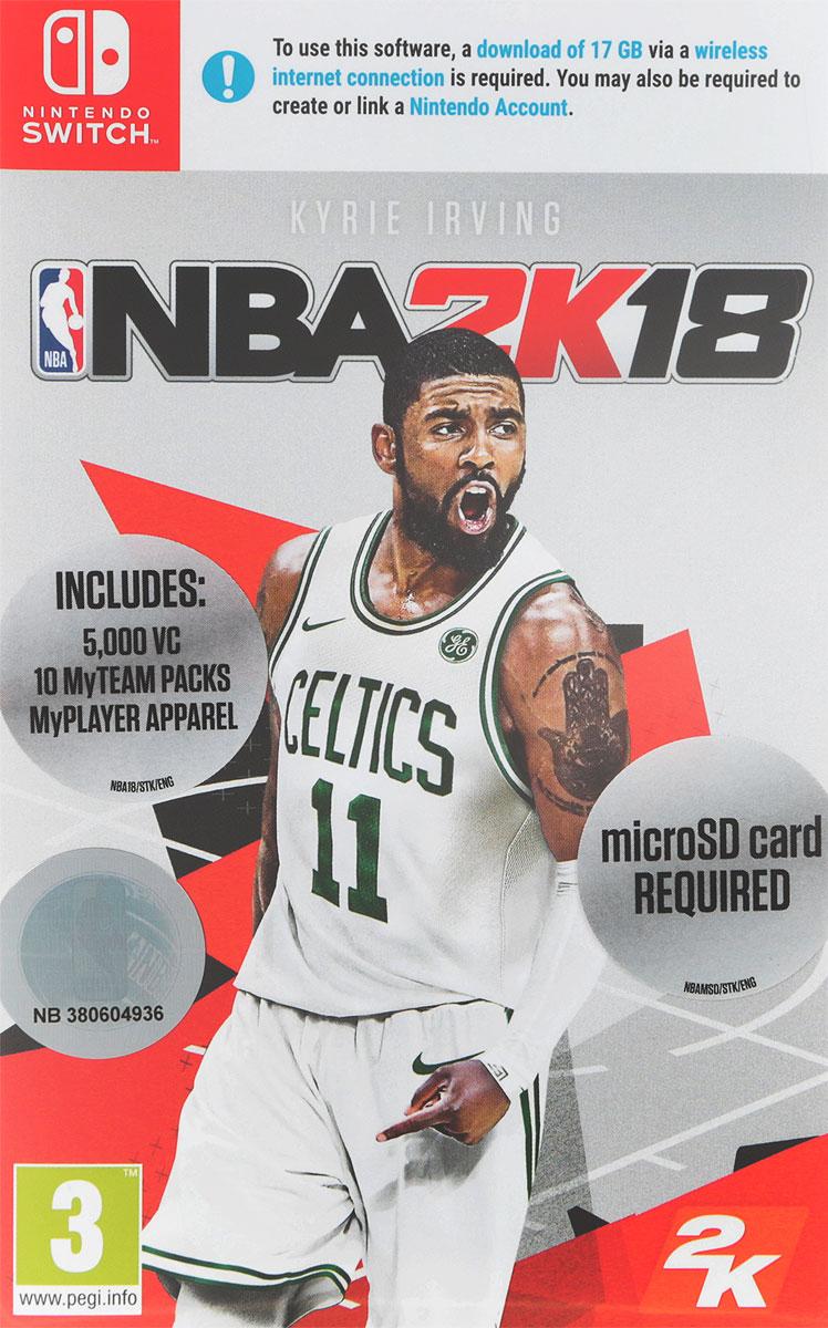 Visual Concepts NBA 2K18 (Nintendo Switch)