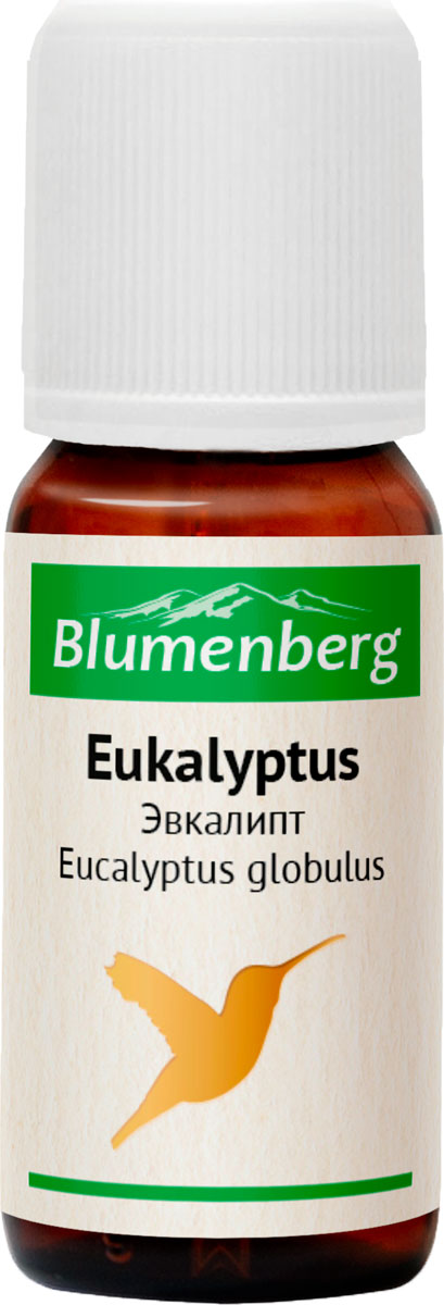 Масло эфирное Blumenberg, эвкалипт, 10 мл223475Помогает при гриппе, ангине, воспалительных процессах в органах дыхания. Оказывает обезболивающее действие при ревматизме, мышечных болях, заболеваниях опорно-двигательного аппарата. Используется при невралгиях и головных болях. Лечит инфекции и воспаления мочеполового тракта. Снижает уровень сахара. Борется с кожными воспалениями, перхотью, активизирует рост волос. Противопоказания Не употреблять во время беременности и детям до 2-х лет. Не применять дольше 5-7 дней подряд.