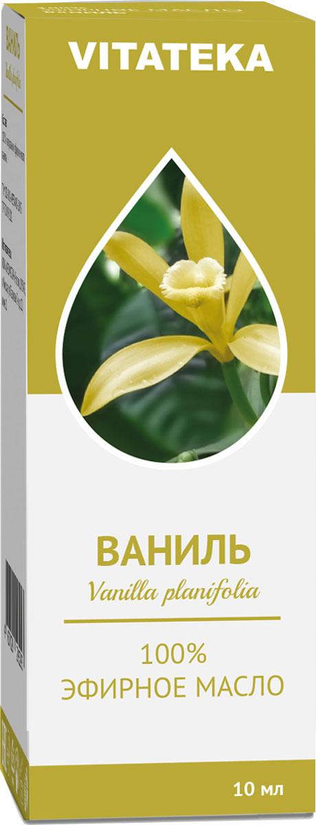 Масло эфирное Витатека, ваниль, 10 мл226114Аромат эфирного масла помогает избавиться от эмоциональной усталости и напряжения после тяжелого дня.