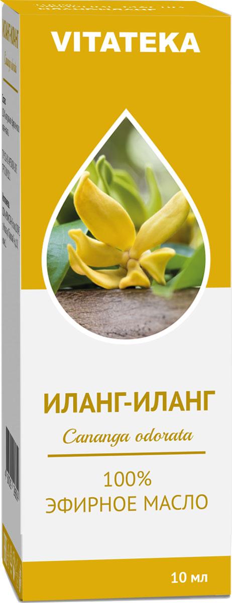 Масло эфирное Витатека, иланг-иланг, 10 мл226111Аромат эфирного масла способствует полноценному , крепкому сну.