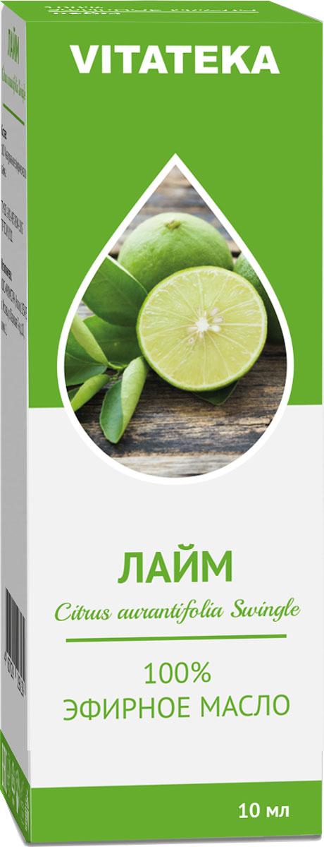 Масло эфирное Витатека, лайм, 10 мл226115Аромат эфирного масла стабилизирует эмоции, прогоняет усталость и восстанавливает силы.