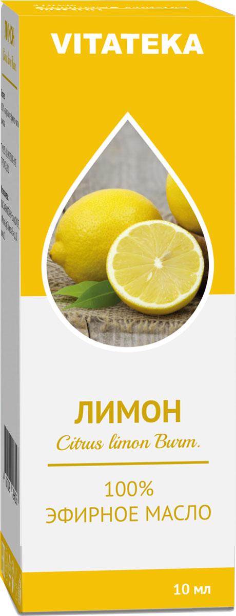 Масло эфирное Витатека, лимон, 10 мл226109Аромат эфирного масла лимона придает силы, снимает усталось и улучшает настроение.Краткий гид по парфюмерии: виды, ноты, ароматы, советы по выбору. Статья OZON Гид