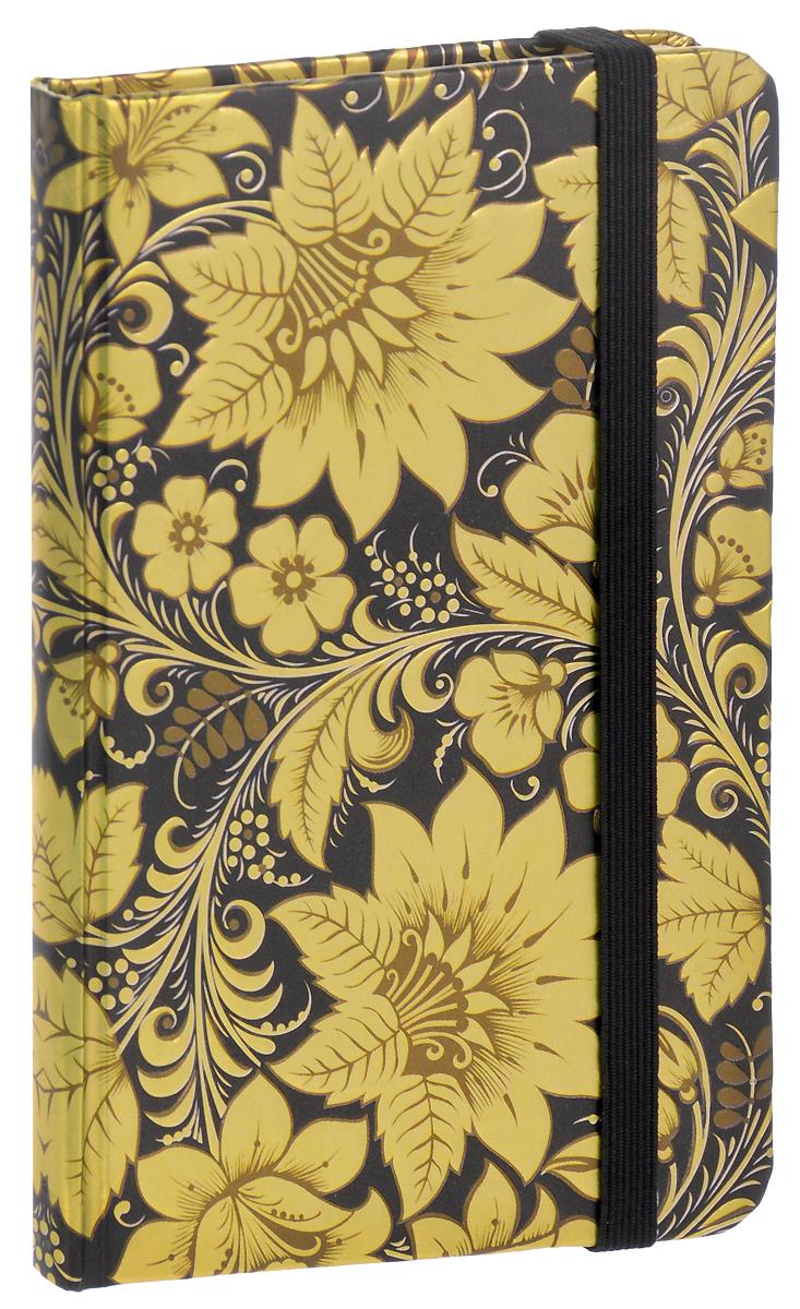 Brauberg Блокнот Spark 80 листов в клетку цвет золотой формат А7125739_золотойBrauberg Блокнот Spark 80 листов в клетку цвет золотой формат А7