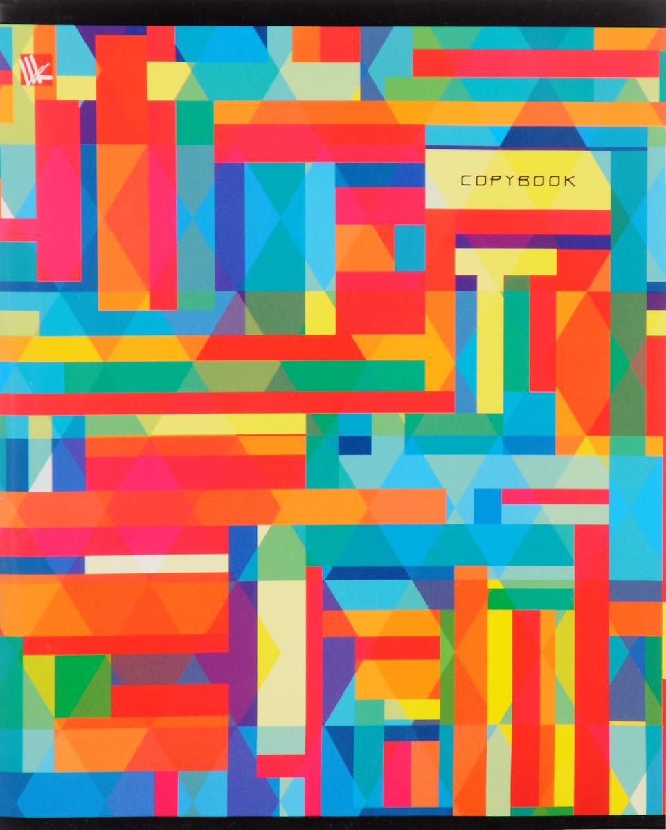 Канц-Эксмо Тетрадь Яркая графика Микс 96 листов в клеткуТК965012_миксТетрадь Яркая графика Микс прекрасно подойдет как для рабочих целей, так и для записей ваших творческих мыслей.Красивый дизайн и качественный внутренний блок.В тетради 96 листов офсетной бумаги в клетку формата А5.Плотность бумаги составляет 60 г/м2. Обложка тетради выполнена из мелованного картона. На листах в тетради есть поля. Крепление листов в тетради Яркая графика Микс - скрепка.