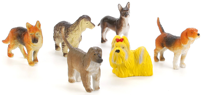Играем вместе Набор фигурок Собаки 6 шт ролевые игры играем вместе набор строительных инструментов самоделкин