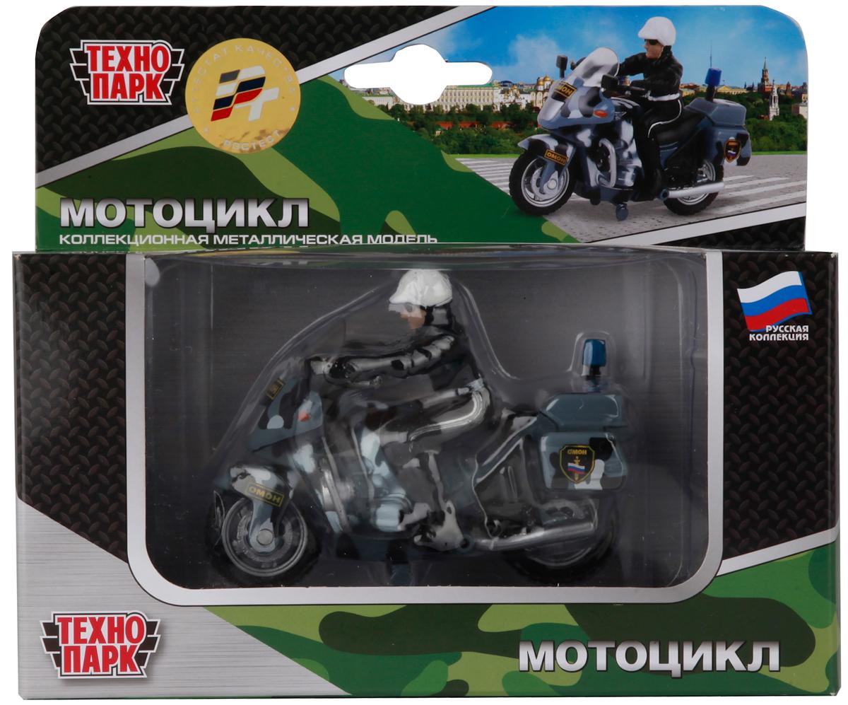 ТехноПарк Мотоцикл Омон с фигуркой