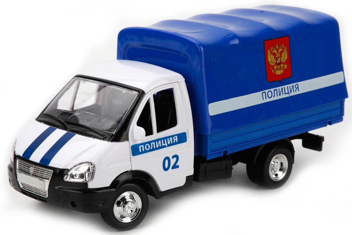 ТехноПарк Модель автомобиля Газель Полиция технопарк модель автомобиля газель дорожные работы
