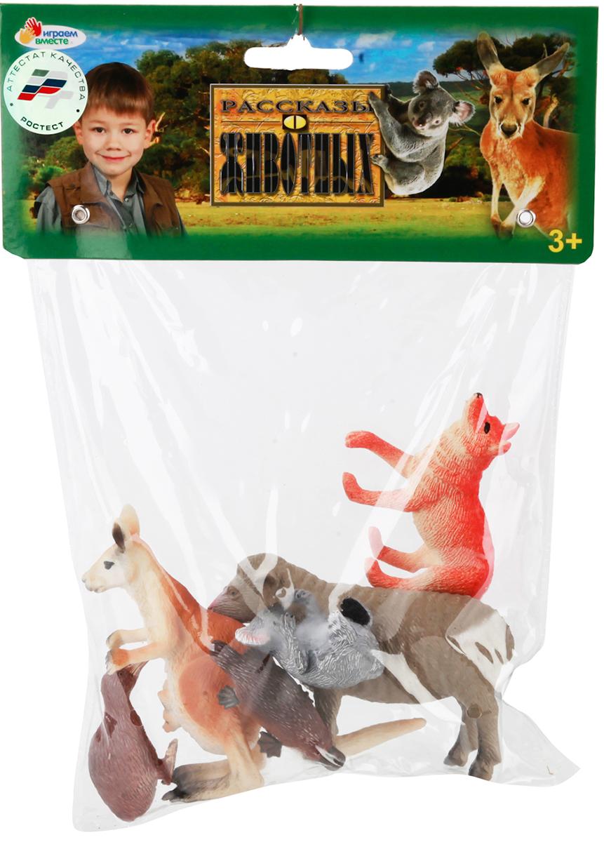 Играем вместе Набор фигурок Животные Австралии 6 шт