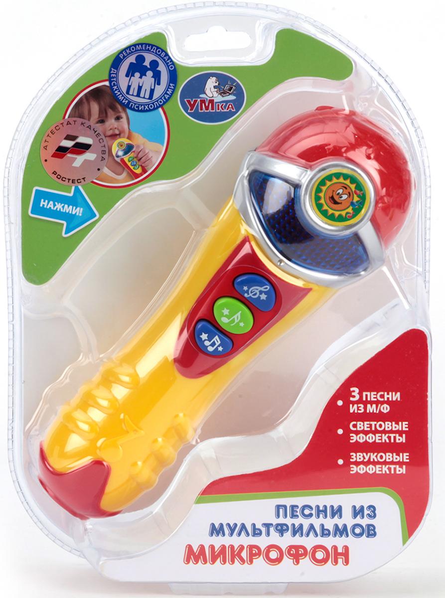 Умка Развивающая игрушка Микрофон озвученный какой микрофон ребенку для начала