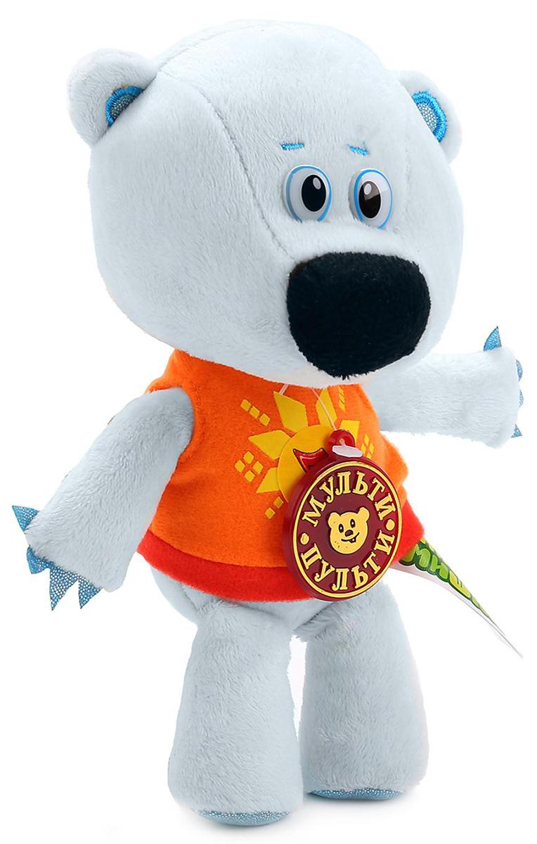 Мульти-Пульти Мягкая озвученная игрушка Медвежонок Белая тучка 20 см - Мягкие игрушки