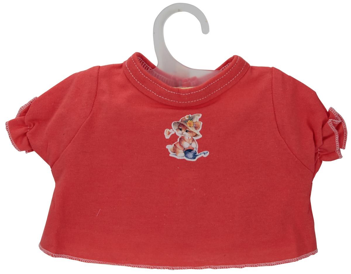 Карапуз Комплект одежды для куклы Футболка и юбка