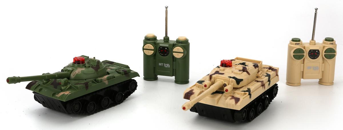 Играем вместе Набор танков на радиоуправлении 2 шт - Радиоуправляемые игрушки
