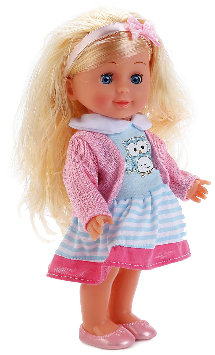 Карапуз Кукла озвученная 25 см карапуз кукла рапунцель со светящимся амулетом 37 см со звуком принцессы дисней карапуз