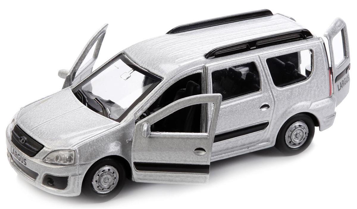 ТехноПарк Модель автомобиля Lada Largus цвет серебристый классические abtoys мягкая игрушка abtoys жираф 14 см