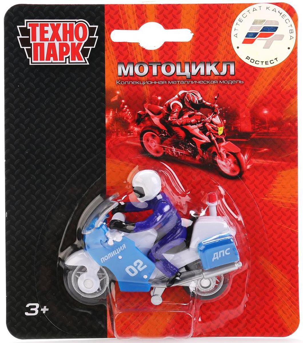 ТехноПарк Мотоцикл Полиция с фигуркой