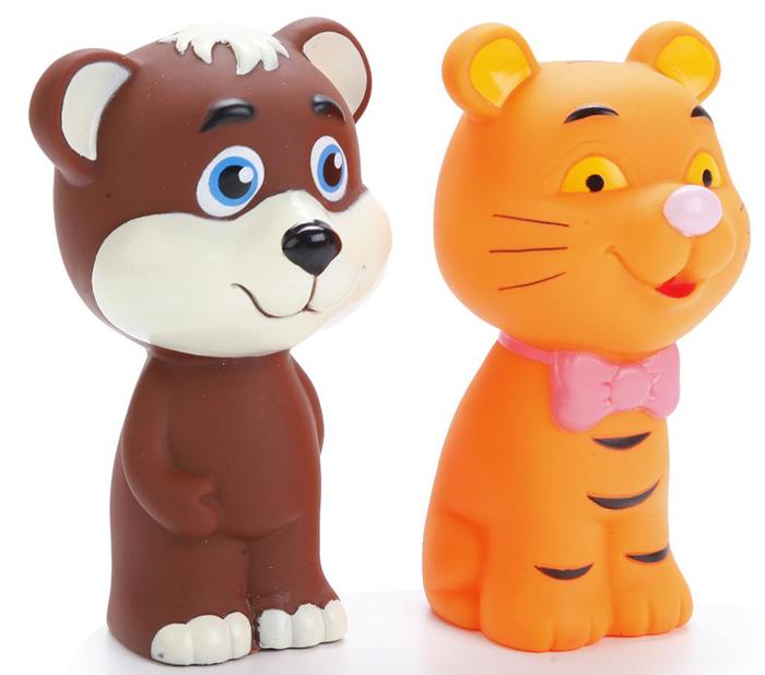 Играем вместе Набор игрушек для ванной Тигр и мишка играем вместе набор игрушек для ванной корабль и самолет