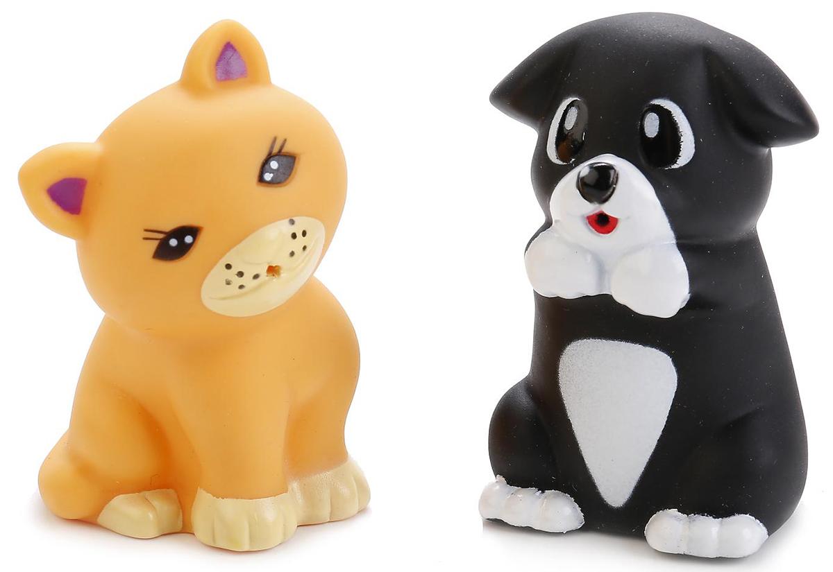 Играем вместе Набор игрушек для ванной Щенок и кот играем вместе набор игрушек для ванной корабль и самолет