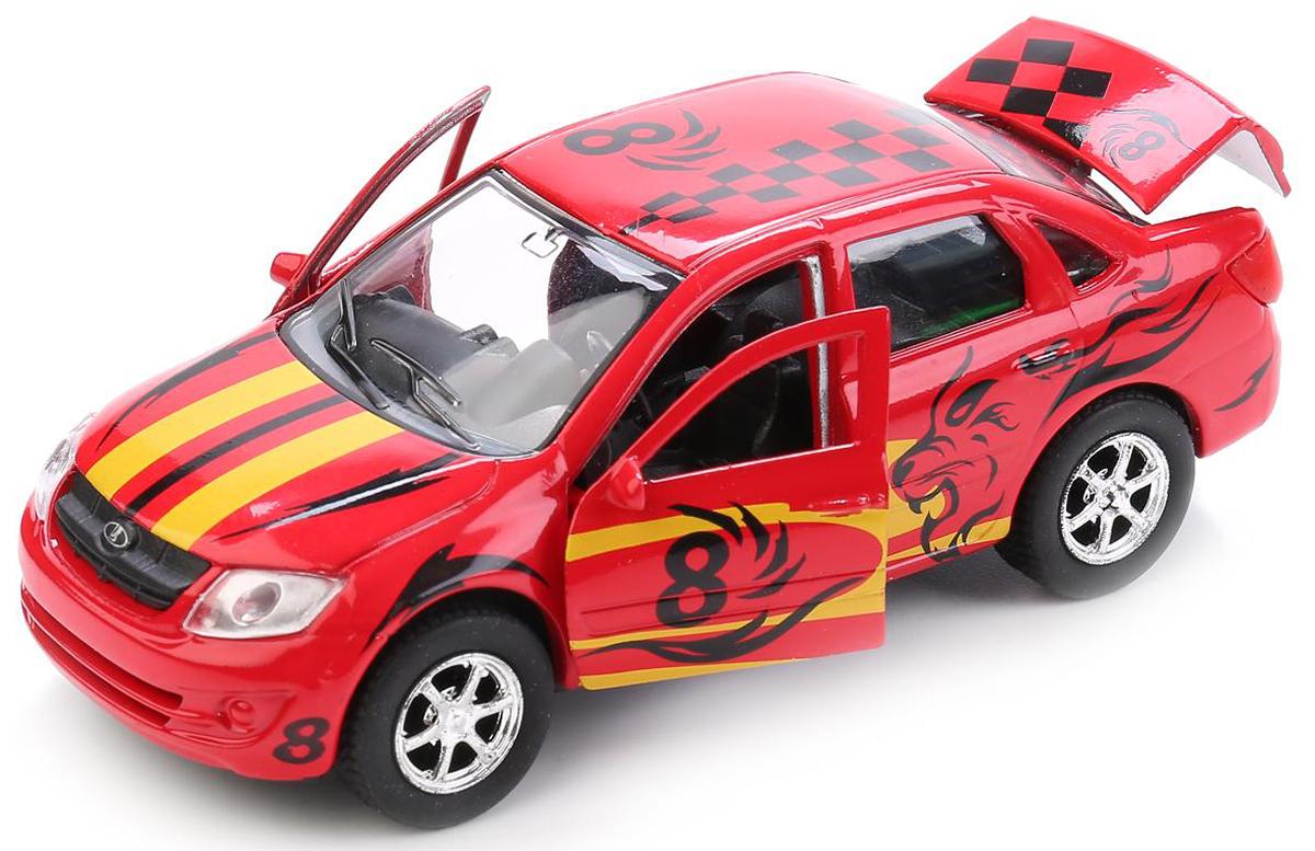 ТехноПарк Модель автомобиля Lada Granta Sport авианосец инерционный технопарк